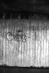(Steini789) Tags: bw wall graffiti blackwhite