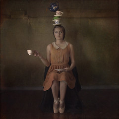A Not So Perfectly Balanced Life (trini61) Tags: portrait girl tea kettle teacup balletshoes trinischultz