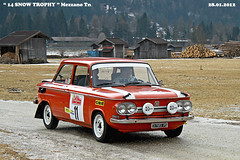 NSU  TT  year 1972 (marvin 345) Tags: auto old italy cars car truck vintage automobile italia rally citroen voiture historic oldtimer trucks oldcar trentino vecchio nsu epoca storico vecchia vecchie storiche mezzano nsutt primiero worldcars snowtrophy
