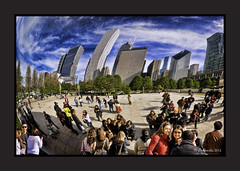 bean 6 (outoftheshadows12) Tags: park chicago millennium il hdr chicagoist