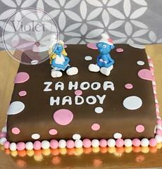 Smurfette cake (Violet.bh) Tags: cake bahrain birthdaycake smurf smurfs