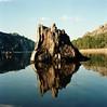 (Birdyphage) Tags: world new wood tree 120 nature montagne spirit corse corsica lac reflet reflect symbole portra400 ospédale