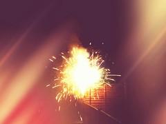 The (dargieduncan) Tags: camera fireworks bonfirenight tailfins 5thofnovember iphoneography snapseed