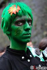 (LucasEOS) Tags: portrait face comics mask cosplay makeup games lucca comix trick cartons ritratto viso busto facce faccia luccacomics luccacomicsandgames sigma50mm14 mascherati faccedacomics lucasgnarini