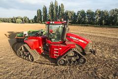 Case IH Quadtrac 620 turning (Case IH Europe) Tags: tractor farm farming tracks case agriculture cultivation ih 620 strongest caseih quadtrac