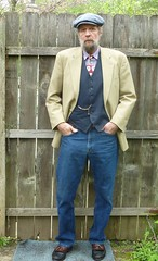 5-8-2016 Today's Clothes (Michael A2012) Tags: hand allen flat handmade watch style made cap lee mens handsewn vest pocket polo waistcoat nashua edmonds