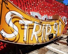 strip 91 (hugh.c.mcbride) Tags: vegas sign vintage neon lasvegas strip neonsign iphone vintagesign vintageneon iphonography instagram snapseed