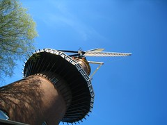 a windmill at a dutch angle (for tim) (muffett68 ) Tags: windmill utrecht explore iconic dutchangle odc uphigh explored