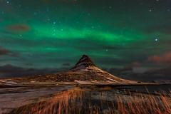 Kirkjufell Aurora (Fabio tomat) Tags: winter mountain night stars landscape iceland nikon nightscape aurora auroraborealis stelle islanda auroraboreale nikon1424f28ed fabiotomat nikond750