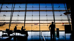 """Now boarding for Houston..."" (Bob Boyd) Tags: leica vegas airport lasvegas summilux 21mm"