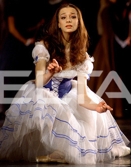 Egle Spokaite in Giselle as Giselle 10-01-12