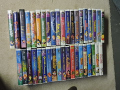 My Disney VHS Collection (greenth1ng) Tags: sleeping white snow black beauty robin goofy stone toy mouse book three duck video king oliver little alice great under lion hound dumbo down disney mickey donald company story peter 101 jungle pooh fox fantasia sword land beast hood pan bambi cinderella mermaid aladdin winnie wonderland walt cassette pinocchio cauldron pocahontas tramp vhs detective dalmatians caballeros flubber rescuers