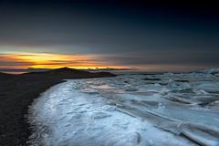 Icey Dawning (Marshall Ward) Tags: winter ice sunrise landscape dawn iceland icebergs jkulsrln icebeach 2013 nikond800 afszoomnikkor2470mmf28ged marshallward