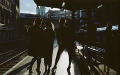 Girls Girls Girls. (Leon.Antonio.James) Tags: street shadow people zine color london art film silhouette analog 35mm canon 50mm kodak ae1 grain ishootfilm 35mmfilm analogue canonae1 tones ilovefilm filmisnotdead filmisalive longlivefilm 50mmfdf14 beliveinfilm buyfilmnotmegapixels leonantoniojames shootfilmstaypoor dustgrainandscratch
