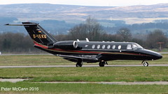 D-IEKU C525 Glasgow March 2016 (pmccann54) Tags: dieku cessna525