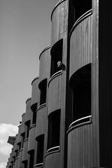 Sentries (marktmcn) Tags: london docks wooden dock lock balcony south entrance surrey balconies housing boxes nikkor overlooking 28300mm se16 terraced d610
