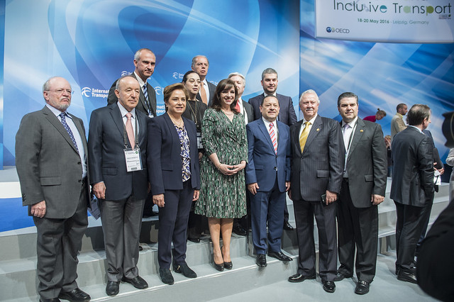 Mexican Delegation poses for photo