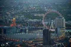 The View from The Shard (andy.brittle) Tags: london night royalalberthall londoneye bigben buckinghampalace waterloostation canon75300 theviewfromtheshard sonya7ii commliteadaptor