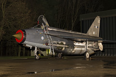 BAC Lightning F6 - 60 (NickJ 1972) Tags: night photo shoot photoshoot aviation ground nightshoot lightning lpg js proving bac 2016 f6 englishelectric britishaircraftcorporation bruntingthorpe xr728