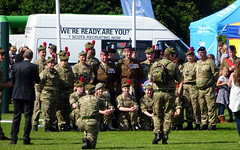 Military Show (82) (lairig4) Tags: scotland stirling armedforcesday military show kingspark parade music 2016