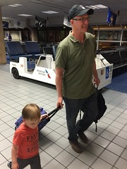 "Paul Walks with Grandpa Miller in Dallas • <a style=""font-size:0.8em;"" href=""http://www.flickr.com/photos/109120354@N07/27244232083/"" target=""_blank"">View on Flickr</a>"