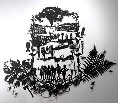 MBosley_LostBoys (TheWayThingsWere) Tags: silhouette paperart silhouettes papercut papercuts papercutting mollybosley