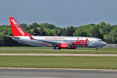 "G-JZHG Boeing 737-85P Jet2.com MAN 03-06-16 (PlanecrazyUK) Tags: egcc manchester man ringway ""manchester airport"" gjzhg boeing73785p jet2com 030616"