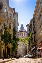 Galata Tower (_PhotOguz_) Tags: summer tower turkey sommer trkiye istanbul turm galata kule
