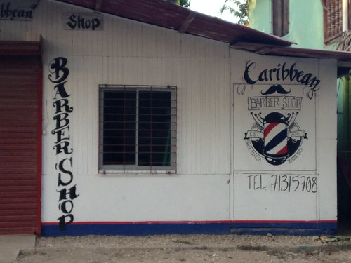 Costa Rica, Barber Shop, Santa Elena