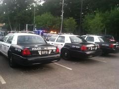 Berea Police Station Parking Lot [2] (Sergiyj) Tags: ohio ford sedan police victoria crown emergency interceptor berea 2013