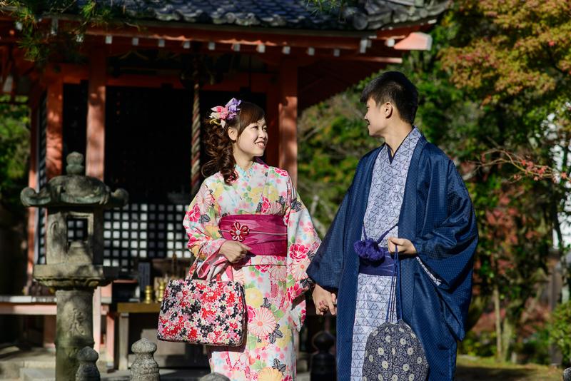 京都婚紗和服,日本婚紗,京都婚紗,京都楓葉婚紗,海外婚紗,和服拍攝,和服體驗,楓葉婚紗,DSC_0081