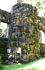 stone tower in Jack London house (lisafree54) Tags: california tower stone wall architecture moss free mossy glenellen jacklondon cco freephotos
