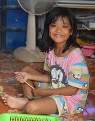 cute girl on the floor (the foreign photographer - ) Tags: cute girl portraits thailand nikon child floor bangkok lard bang seated bua khlong bangkhen d3200 phrao jun262016nikon