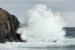 Wave Porn (Jerry Curtis) Tags: beach newfoundland cove wave porn burst middle