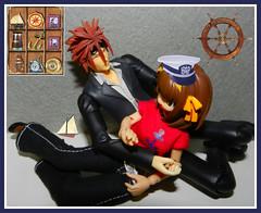 Nautical (MarilynTee) Tags: anime actionfigure revoltech jfigure oneobject365daysproject frauleinrevoltechharuhisuzumiyabunny finalfantasyviiadventchildrenplayarts2reno