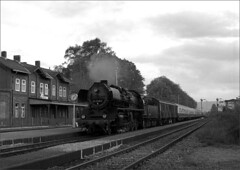 No 50 3708 0 on main line duty. (RhinopeteT) Tags: steam east german railways locomotives