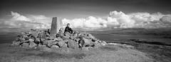 Sutherland. (polarisandy) Tags: panorama white film sunrise 35mm landscape aperture fuji panoramic hasselblad fujifilm analogue xpan ullapool fujilab fujipro160 fujipro160c xpan2 polarisandy aperture3 blinkagain wwwpolarisandycom