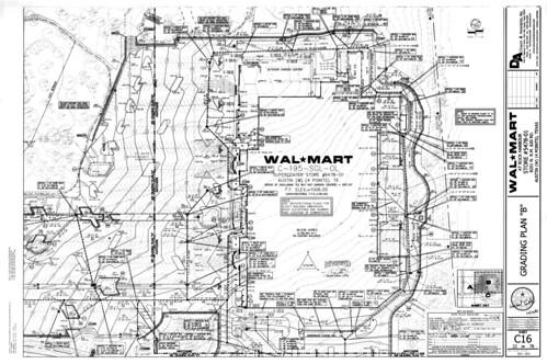 Grading Plan B Walmart in Austin TX a photo on Flickriver – Site Grading Plan