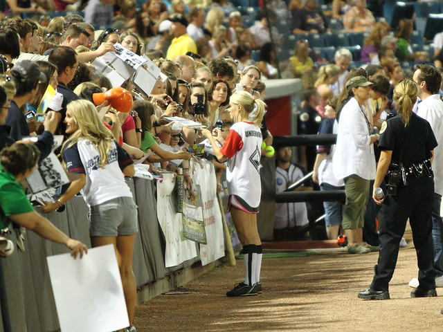CARRIE UNDERWOOD - City of Hope Charity Baseball Game - CMA Fest 2010