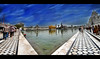 Shri Harmandir Sahib (Gurpreet Dubb) Tags: panorama temple golden deep sikh sahib amritsar baba harmandir darbar gurpreet takhat akal sarowar