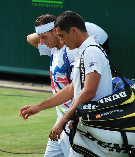 Nicolas Almagro - David Nalbandian & Nicolas Almagro
