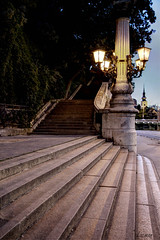 Stairway (Lacmaaan) Tags: temple evening stair outdoor budapest este templom lpcs