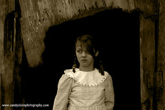 Country Girl (sandyolson) Tags: old boy portrait blackandwhite bw white black macro history classic girl beautiful children photography child antique wildlife monroe baroque johnlennon chiaroscuro renaissance cleopatra silverscreen awardwinning irlambriggs