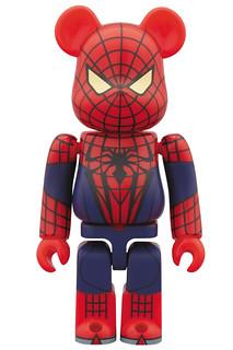 蜘蛛人:驚奇再起 BE@RBRICK 100% & 400%