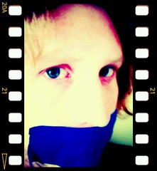 blue tape gag at work (Bmillzgag) Tags: gagged bluetape tapegag flickrandroidapp:filter=none