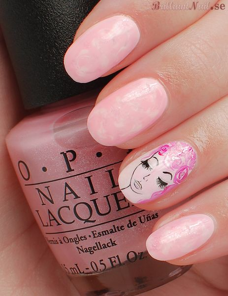 Pink Dreams Nail Art