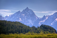 "Purple Mountain Majesty (IronRodArt - Royce Bair (""Star Shooter"")) Tags: park usa mountain america landscape purple scenic grand national western grandtetons teton tetons majesty tetonrange grandtetonnationalpark"