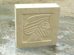 Relief stone carving 1 day workshop - 10th June 2012 (ArtisOn Masham) Tags: workshops masham artison craftworkshops