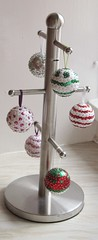 baubles on a cup tree (kian1959) Tags: xmas tree baubles colourfull