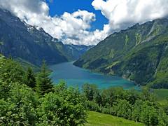 BMB-REISE-2012_200_27062012_12'54 (eduard43) Tags: travel lake mountains landscape schweiz switzerland see reisen berge mountainlake bergsee landschaft glarus klöntalersee